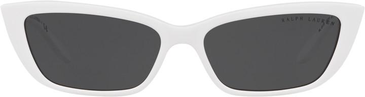Ralph Lauren Chain-Link Cat-Eye Sunglasses