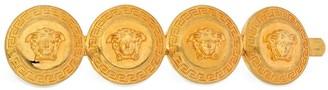 Versace Heritage Medusa Coin Left Side Hair Clip
