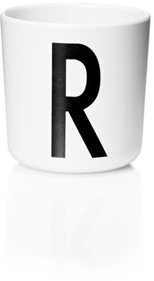 Design Letters Personal Melamine Cup - R