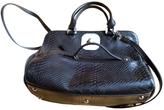 Longchamp Gatsby python handbag.