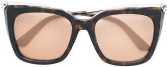 Cartier Panthere de sunglasses