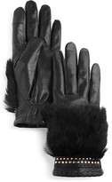 Rebecca Minkoff Rabbit Fur Gloves