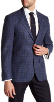 Ike Behar Plaid Sport Coat