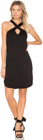 Lanston Cross Front Mini Dress