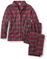 L.L. Bean L.L.Bean Tartan Flannel Pajama Set
