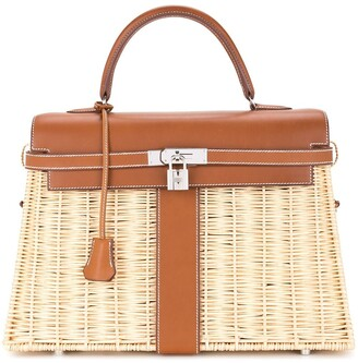 Hermes pre-owned Kelly picnic bag