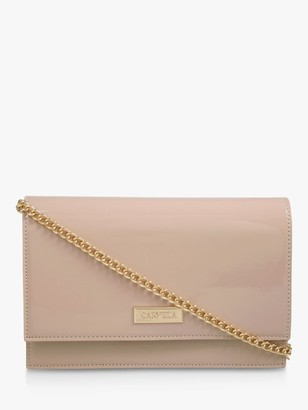 Carvela Koko Patent Clutch Bag