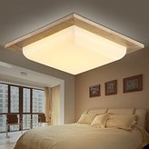 Brother quan Wooden ceiling lamps designer light oak ceiling living room lights Nordic personality ceiling lamps