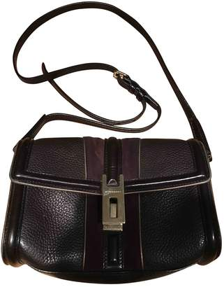 Burberry Purple Leather Handbags