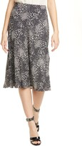 Joie Brystal Mixed Animal Print Skirt