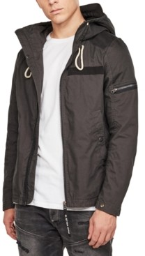 G Star Men's Hooded Jacket, Created for Macy's