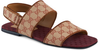 Gucci GG Canvas Sandal