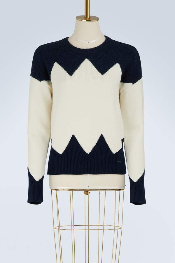 Tory Burch Wool Hannah sweater