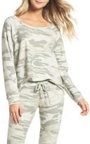 Michael Lauren Women's Camo Lounge Sweatshirt