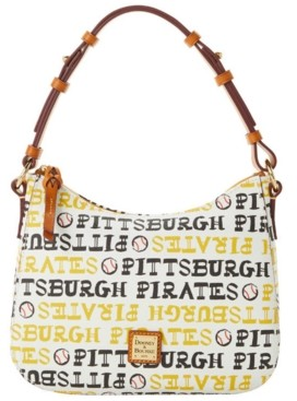 Dooney & Bourke Pittsburgh Pirates Small Kiley Hobo Bag