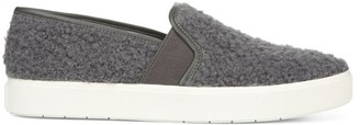 Vince Blair Faux-Shearling Slip-On Sneakers