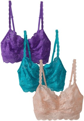 Cosabella Women's Never Say Never 3-Pack Sweetie Soft Bra