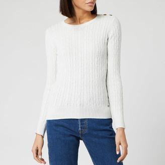 Superdry Women's Croyde Cable Knitted Jumper
