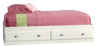Three Posts Baby & Kids Olney Storage Platform Bed Color: Soft White, Size: Twin