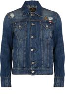 Vivienne Westwood Anglomania New D.Ace Jacket Blue Denim Size M