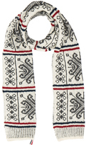 Thom Browne Norwegian Fair isle Scarf
