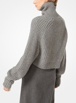 Michael Kors Cashmere and Mohair Pullover