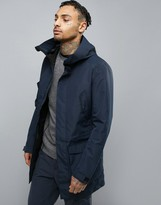 Jack & Jones Tech Parka With High Hood And Print