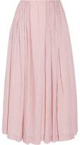 Emilia Wickstead Poppy Cloqué Midi Skirt