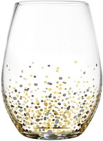 Fitz & Floyd Confetti 4-pc. Stemless Wine Glass Set