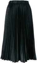 Comme des Garcons pleated midi skirt - women - Polyester - L