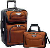 Traveler's Choice Amsterdam 2-Piece Carry-On Luggage Set
