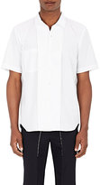 Comme des Garcons Men's Cotton Poplin Folded Placket Shirt