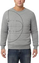 Puma Evo Graphic Padded Crew Sweatshirt
