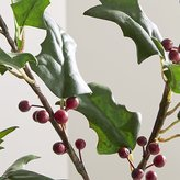 Crate & Barrel Holly Berry Stem