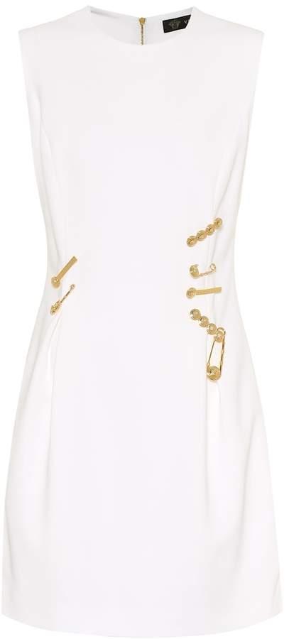 d38a5b7b Embellished stretch-crepe minidress