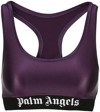 Palm Angels Logo Sports Bra