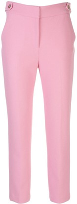 Veronica Beard Gamila cropped tailored trousers
