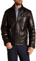 Cole Haan Genuine Leather Bomber Jacket