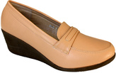 Apricot Wedge Loafer