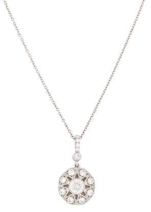 Marchesa 18K Diamond Pendant Necklace