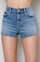 PacSun Tommy Blue High Rise Cutoff Denim Shorts