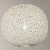 John Lewis Granville Easy-to-Fit Pendant Light, White