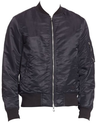 Rag & Bone Long Sleeve Bomber Jacket