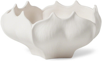 "Global Views 11"" Emerson Fruit Bowl - White"