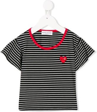 Sonia Rykiel ENFANT stripe print T-shirt