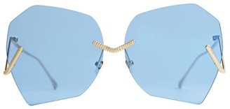 Burton 63MM Geometric Sunglasses