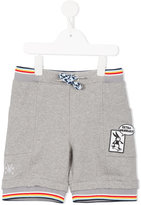 No Added Sugar drawstring jersey shorts - kids - Cotton/Spandex/Elastane - 6 yrs