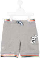 No Added Sugar drawstring jersey shorts - kids - Cotton/Spandex/Elastane - 8 yrs