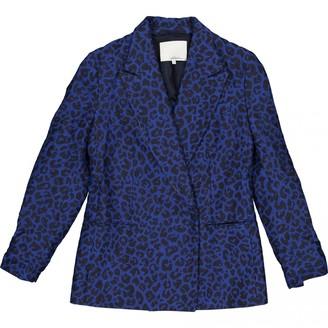3.1 Phillip Lim Blue Cotton Jacket for Women