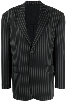 Maison Margiela pinstriped oversized blazer